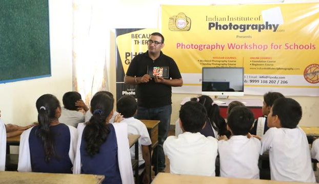 IIP'S PHILANTHROPIC DOMAIN EXPANDS, ORGANIZES FREE PHOTOGRAPHY WORKSHOP FOR SMILE FOUNDATION'S UNDER-PRIVILEGED CHILDRENN