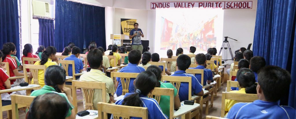 INDIAN INSTITUTE OF PHOTOGRAPHY ORGANIZES A COMPREHENSIVE PHOTOGRAPHY WORKSHOP AT INDUS VALLEY PUBLIC SCHOOL, SECTOR 62